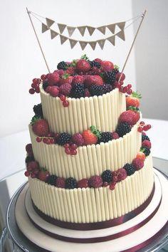 Cigarello Wedding cake