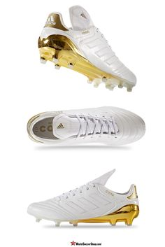 adidas Copa 17.1 FG - Crowning Glory Limited Collection //  The Limited Edition Crowning Glory is made to celebrate the anniversary of the Copa Mundial, the most popular and best selling cleats in history.  adidas is bringing their modern innovation, and blending it with their most iconic and classic soccer cleat tointroduce the Copa 17. With the Copa 17, you get everything you could want in a modern classic. Available now at WorldSoccerShop.com #soccer  #cleats #athletes #adidas