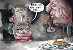 Happy To Be Here, David Rowe, Australian Financial Review | Political Cartoons Australia