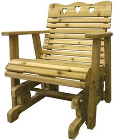 Glider Chair Woodworking Plan #pergolaplans