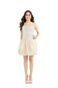 Classy and Sophisticated - you'll make everyone jealous with this beautiful dress!