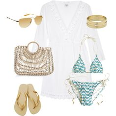 Beach Day. For me the golden touches would most likely be silvery touches, but for the rest me likes :)