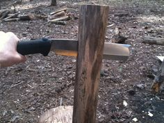 #Silky single bevel #Nata. Ideal for splitting wood for a campfire. #bushcraft #camping