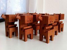 AARGHBLOCK's - Pear Wood Toy Series by Pepe Hiller