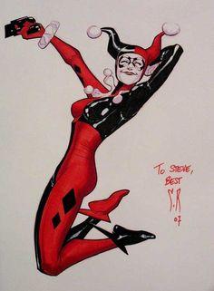 Harley Quinn by Stephane Roux