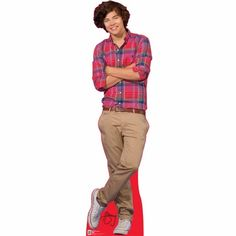 One Direction Harry Life Sized Cardboard Cutout $34.95