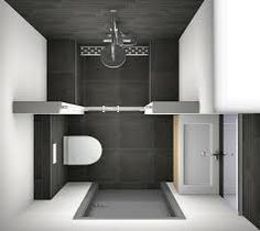 1000 images about badkamer on pinterest met toilets and showers - Deco kleine badkamer met bad ...