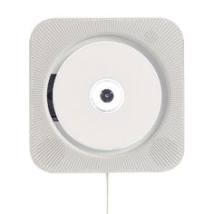 Wall-mounted CD player by Naoto Fukasawa for Muji