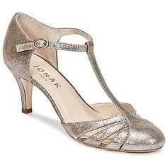 Escarpins Jonak LAORA Argenté 85.00 € Pump Shoes, Women's Shoes Sandals, Shoe Boots, Heels, Bride Shoes, Wedding Shoes, Crazy Shoes, Me Too Shoes, Everyday Shoes