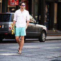 Summer Oxford shirt by VoyVoy Clothing Preppy Style, My Style, Oxford Shirts, White Shirts, Linen Shirts, Gentleman Style, Well Dressed, Spring Summer Fashion, Superman