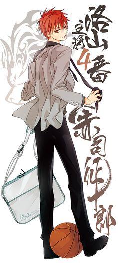 Kuroko no Basket - Seijuurou Akashi Kise Ryouta, Akashi Seijuro, Kagami Taiga, Kuroko Tetsuya, Hot Anime Boy, Anime Guys, Kurokos Basketball, Anime Red Hair, Manga