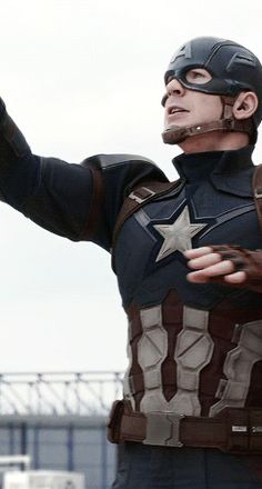 Steve Rogers || Captain America: Civil War || gif - Visit to grab an amazing super hero shirt now on sale!