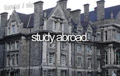 Would definitely love to! London, Australia, New Zealand, Italy, Mexico