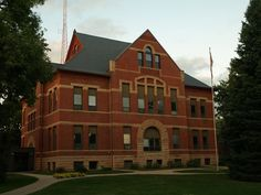 Sac County courthouse, Sac City, Iowa. Spent some time here.