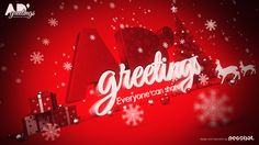 AD Greetings Christmas on Behance