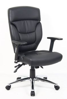 ascot leather office chair an executive affordable black leather