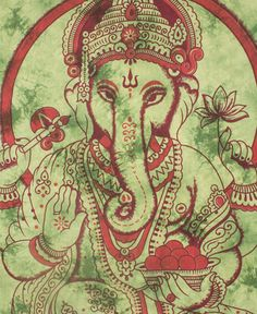 NEW! Ganesh Tapestry #elephant #india #decor