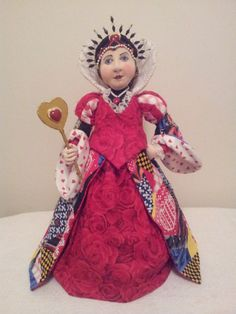Herzkönigin aus Alice im Wunderland Kollektion