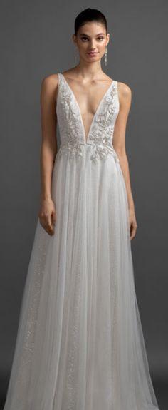 Lazaro Alma White Wedding Dresses, Formal Dresses, Timeless Elegance, Magnolia, Ball Gowns, Beading, Sparkle, Bride, Elegant