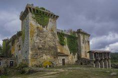 A CORUÑA. Boente-Salceda.  Castillo de Pambre. Photo of Juan Almecija  #caminodesantiago