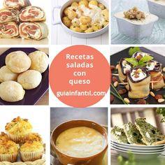 Recetas con queso saladas y riquísimas para los niños http://www.guiainfantil.com/recetas/cocinar-con-ninos/recetas-saladas-con-queso-para-ninos/