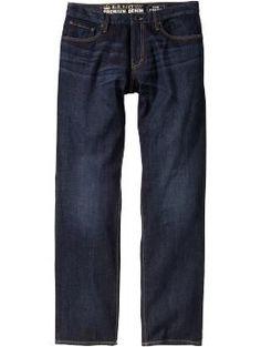ON Dark Wash Straight-Leg Jean