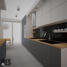 Kitchen Layout Interior, Kitchen Shelf Design, Galley Kitchen Design, Simple Kitchen Design, Contemporary Kitchen Design, Home Decor Kitchen, Home Kitchens, New Kitchen Cabinets, Küchen Design