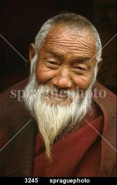 faces - Monk of Gadeng Monastery, Tibet.