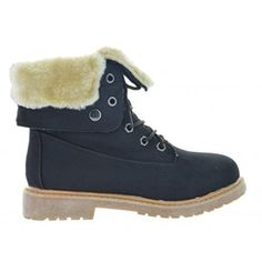9046dc29f687 New Women Winter Snow Lace Up Flat Fur Lined Fashion Mid-Calf Boot Casual  KIMBER