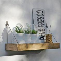 outdoor hanging shelf