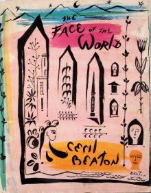 First Edition, Cecil Beaton. The Face of the World.