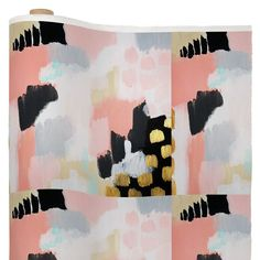 Laura Fedorowicz Footprints Fabric By The Yard | DENY Designs Home Accessories