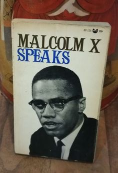 Malcolm X Speaks Vintage Paperback Book by EclecticRetroLand on Etsy https://www.etsy.com/listing/279878994/malcolm-x-speaks-vintage-paperback-book