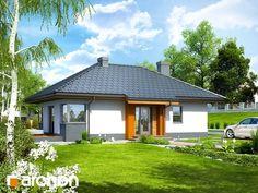 Projekt Dom w majówkach ver.2 wizualizacja 1