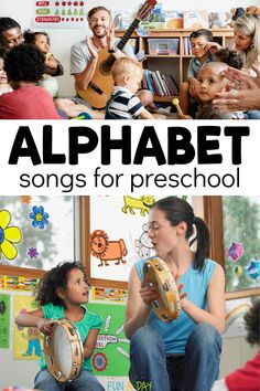 Alphabet Songs for Preschool Kids to Sing and Dance Along To Music Activities For Kids, Early Learning Activities, Preschool Music, Preschool Lesson Plans, Preschool Learning, Kids Songs, Literacy Activities, Toddler Preschool, Teaching Kids