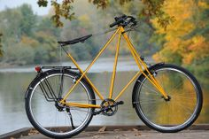 Pedersen-Rad gelb Rohloff 1 | Flickr: partage de photos!
