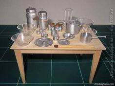 Домики из дерева - Алюминиевая посуда