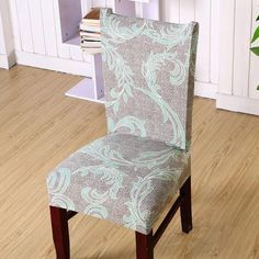 Diy How To Make A Chair Cover Slip Cover Tutori