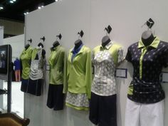 We're excited to bring you Bette & Court Outfits this coming July! Share to all golfers out there! This is from their PGA Merchandise Show 2014. #golf #golfapparel #fashion #clothing #lorisgolfshoppe