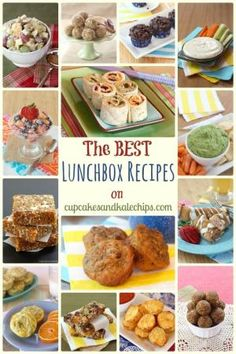 The Best Lunchbox Recipes on cupcakesandkalechips.com - my favorite recipes for packing in school lunch for my kids! by alexis