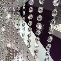 Buy 1M 16mm Acrylic Crystal Pearls Beads Chain Home Decor Garland Flowers Wedding Party Decoration DIY Products Supply at Wish - Shopping Made Fun