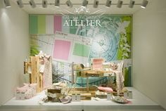 Galeria Kaufhof windows, Berlin visual merchandising