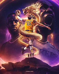 King Lebron James, Lebron James Lakers, King James, Lebron James Wallpapers, Sports Wallpapers, Stephen Curry, Nba Kings, Lakers Wallpaper, Mvp Basketball