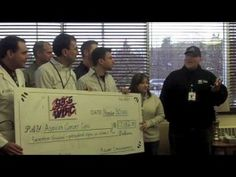 2012 Disco Cures Cancer Check presentation