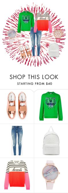 """""""Comfy"""" by kistajermonika on Polyvore featuring Acne Studios, Kenzo, Ted Baker, Joshua's, Chinti and Parker and Michele"""