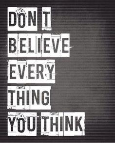 Gedachten zijn geen feiten. – Mindfulness voor elke dag