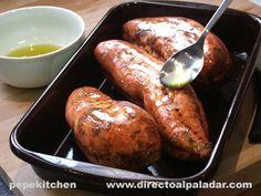 Sweet Potato Benefits, Benefits Of Potatoes, Baked Potato, Baking, Ethnic Recipes, Food, Wings, Vegetarian Recipes, Plate