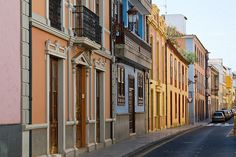 San Cristobal de La Laguna is a small historic town in Tenerife. Oh The Places You'll Go, Great Places, Beautiful Places, Places To Visit, Tenerife, All About Spain, Sevilla Spain, Canary Islands, Spain Travel