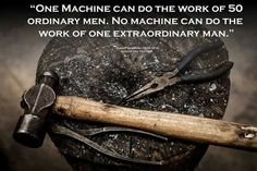 """One machine can do the work of 50 ordinary men. No machine can do the work of ONE Extraordinary man."" #gentlemen Click here to subscribe: www.babyGent.com"