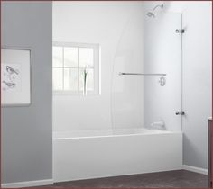One Piece Tub Shower Combo